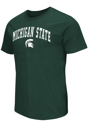 Colosseum Michigan State Spartans Mens Green Mason Tee