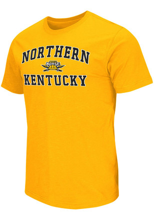 Colosseum Northern Kentucky Norse Mens Gold Mason Tee