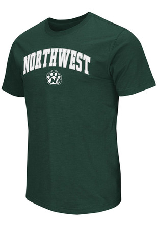 Colosseum Northwest Missouri State Bearcats Mens Green Mason Tee