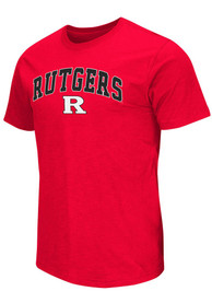 Colosseum Rutgers Scarlet Knights Red Mason Tee