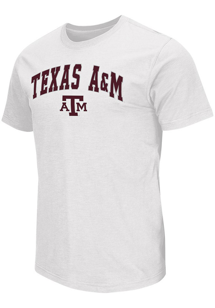 Colosseum Texas A&M Aggies White Mason Tee
