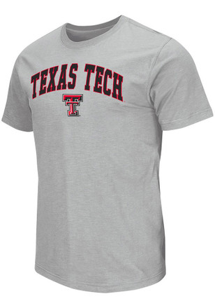 Colosseum Texas Tech Red Raiders Mens Grey Mason Tee