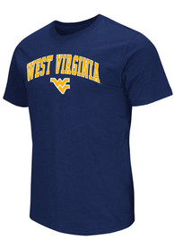 Colosseum West Virginia Mountaineers Navy Blue Mason Tee