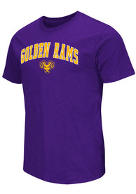 Colosseum West Chester Golden Rams Purple Mason Tee