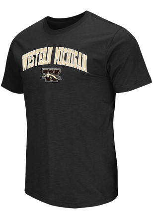 Colosseum Western Michigan Broncos Mens Black Mason Tee