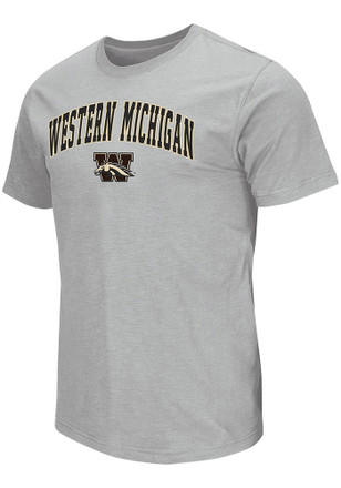 Colosseum Western Michigan Broncos Mens Grey Mason Tee
