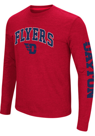 Colosseum Dayton Flyers Mens Red Jackson Tee