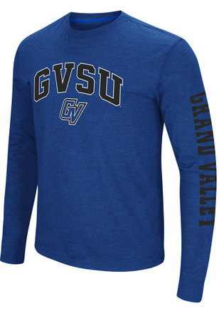 Colosseum Grand Valley State Lakers Mens Blue Jackson Tee