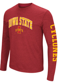 Colosseum Iowa State Cyclones Red Jackson Tee