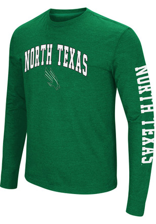 Colosseum North Texas Mean Green Mens Green Jackson Tee