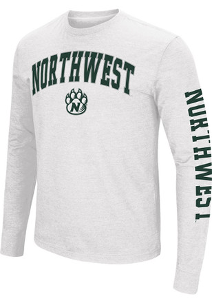 Colosseum Northwest Missouri State Bearcats Mens White Jackson Tee
