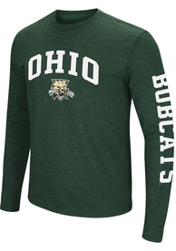 Colosseum Ohio Bobcats Green Jackson Tee