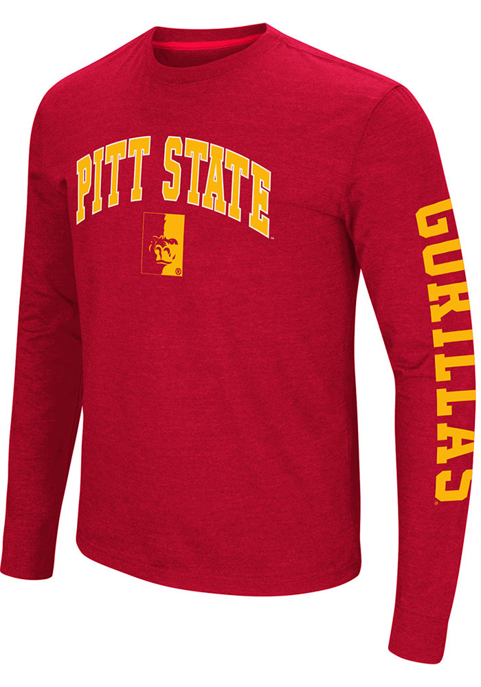 4a5c8df0c Colosseum Pitt State Gorillas Red Jackson Tee