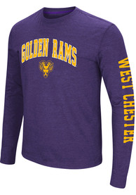 Colosseum West Chester Golden Rams Purple Jackson Tee