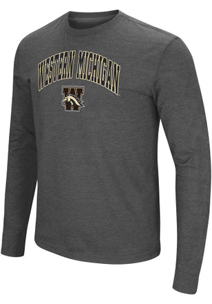 Colosseum Western Michigan Broncos Mens Grey Jackson Tee
