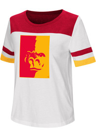 Colosseum Pitt State Gorillas Womens White Show Me The Money T-Shirt