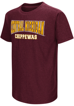 Colosseum Central Michigan Chippewas Youth Maroon Graham T-Shirt