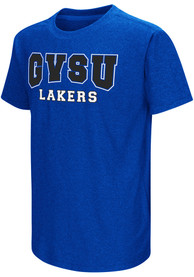 Colosseum Grand Valley State Lakers Youth Blue Graham T-Shirt