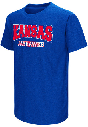 Colosseum Kansas Jayhawks Kids Blue Graham T-Shirt