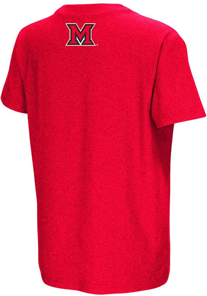 Colosseum Miami Redhawks Youth Red Graham Short Sleeve T-Shirt - Image 2