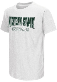 Colosseum Michigan State Spartans Youth White Graham T-Shirt