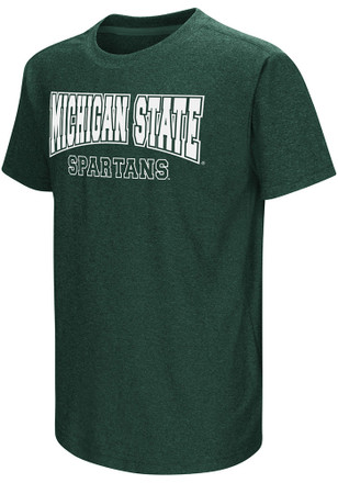 Colosseum Michigan State Spartans Kids Green Graham T-Shirt