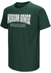 Colosseum Michigan State Spartans Youth Green Graham T-Shirt