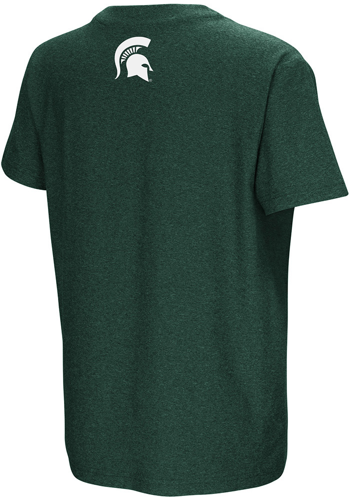 Colosseum Michigan State Spartans Youth Green Graham Short Sleeve T-Shirt - Image 2