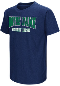 Colosseum Notre Dame Fighting Irish Youth Navy Blue Graham T-Shirt