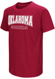 Colosseum Oklahoma Sooners Youth Crimson Graham T-Shirt