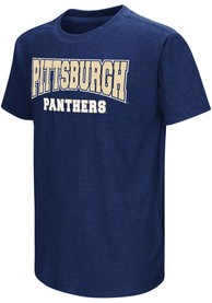 Colosseum Pitt Panthers Youth Navy Blue Graham T-Shirt