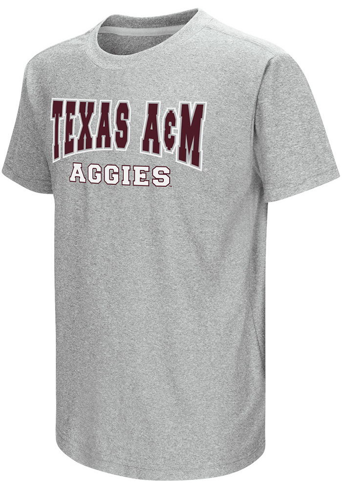 Colosseum Texas A&M Aggies Youth Grey Graham T-Shirt