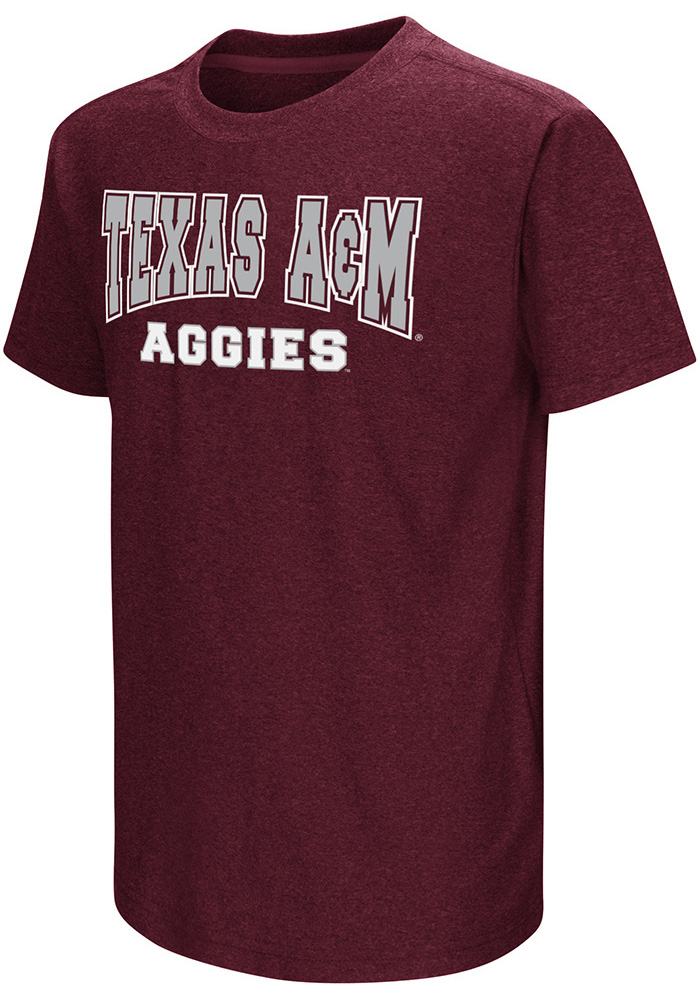 Colosseum Texas A&M Aggies Youth Maroon Graham T-Shirt