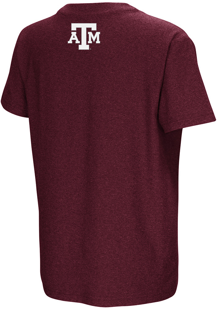 Colosseum Texas A&M Aggies Youth Maroon Graham Short Sleeve T-Shirt - Image 2