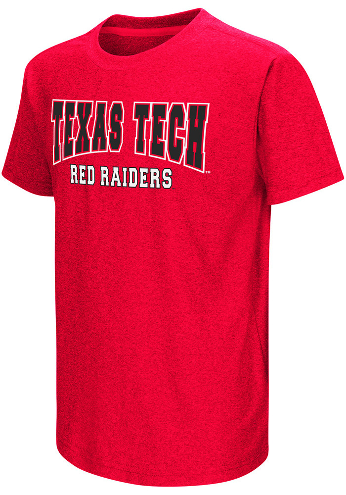 Colosseum Texas Tech Red Raiders Youth Red Graham Short Sleeve T-Shirt - Image 1
