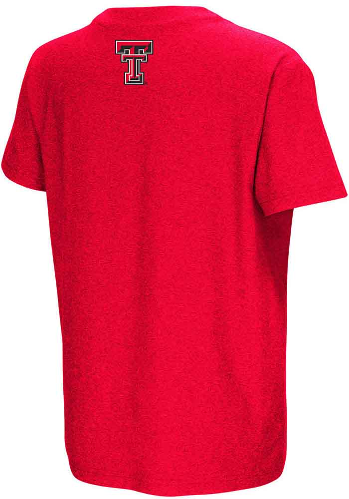 Colosseum Texas Tech Red Raiders Youth Red Graham Short Sleeve T-Shirt - Image 2