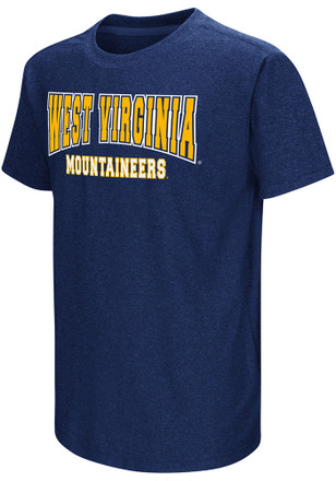 Colosseum West Virginia Mountaineers Kids Navy Blue Graham T-Shirt