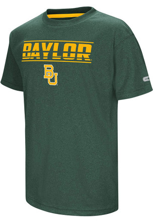 Colosseum Baylor Bears Youth Green Head Start T-Shirt