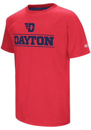Colosseum Dayton Flyers Youth Red Head Start T-Shirt