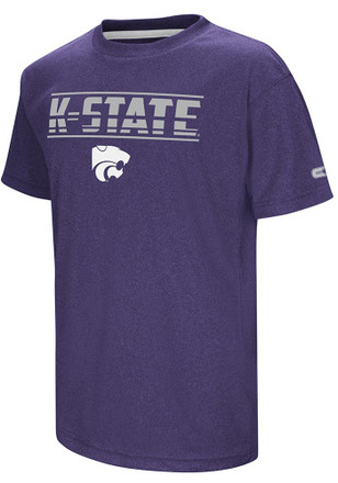 Colosseum K-State Wildcats Kids Purple Head Start T-Shirt