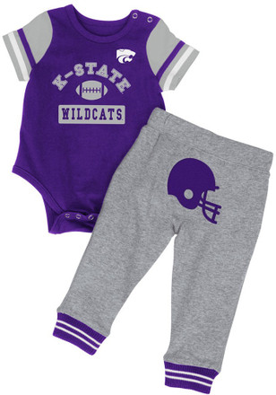 Colosseum K-State Wildcats Toddler Purple MVP Top and Bottom