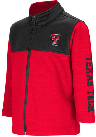 Colosseum Texas Tech Red Raiders Toddler Red Clutch Full Full Zip Jacket