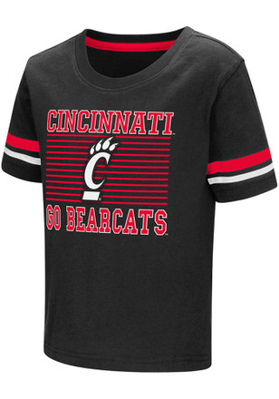 Colosseum Cincinnati Bearcats Toddler Red Qualifier T-Shirt