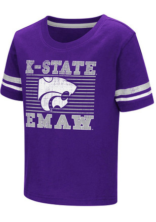 Colosseum K-State Wildcats Toddler Purple Qualifier T-Shirt