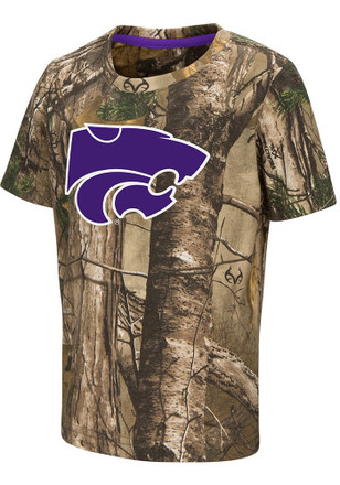 Colosseum K-State Wildcats Toddler Purple Realtree T-Shirt