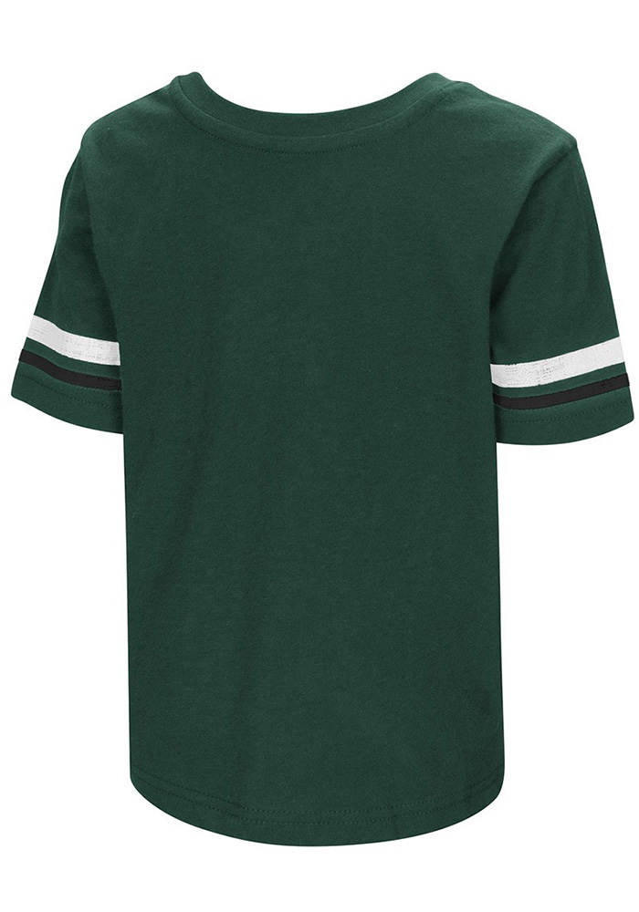 Colosseum Michigan State Spartans Toddler Green Qualifier Short Sleeve T-Shirt - Image 2