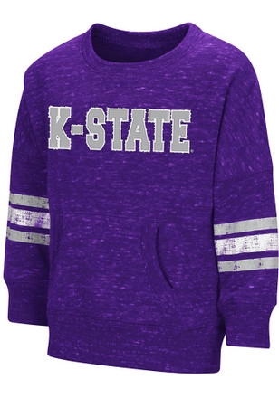 Colosseum K-State Wildcats Toddler Purple Roque Crew T Shirt