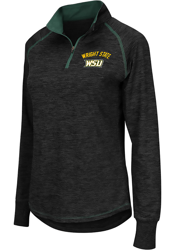 under armour 1 4 zip womens. colosseum wright state raiders womens bikram grey 1/4 zip pullover under armour 1 4
