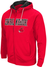Central Missouri Mules Colosseum Classic Full Zip Jacket - Red