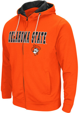 Colosseum Oklahoma State Cowboys Mens Orange Classic Full Zip Jacket